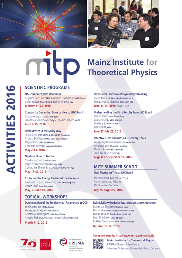 Previous Events   Institute for Nuclear Physics